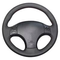 <b>Microfiber Leather</b> Steering Wheel Cover 1 - Shop Cheap Microfiber ...