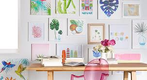 curate walls that wow in a sunny palette that takes on wall picture arts with art wall decor walmart