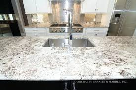 white and gray countertops gray shaker cabinets
