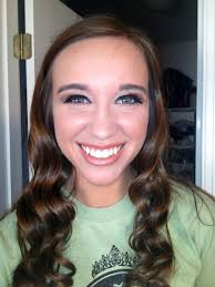 hair and makeup i did for in the miss brookwood high pageant