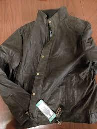 bernardo men s fashion authentic leather jacket regular xl nwt