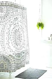 farmhouse bathroom rugs plum bow medallion shower curtain from urban outfitters within modern bathroom rugs