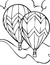 Small Picture Hot air balloon Coloring Page Handipoints