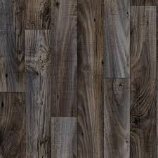 wide x your choice length residential vinyl sheet flooring dark grey weathered wood finish