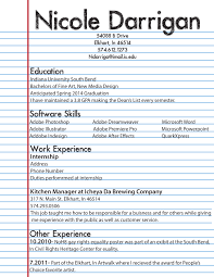 Whatould On Resume How To Write For College Student With No