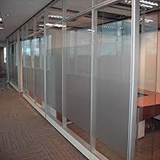 office glass windows. Coavas Privacy Window Film 35.5\u0027\u0027by78.8\u0027\u0027Decorative Static Cling Glass Office Windows