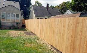 wood privacy fences. Dogear Wood Privacy Fence Fences