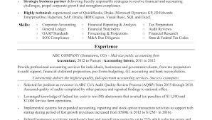Resume Template Accounting Keralapscgov