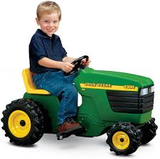 2 Year Old Boy in the Family? John Deere Plastic Pedal Tractor FUN Gifts for Boys!
