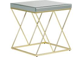 gold end table. Gold End Table
