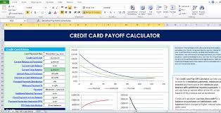 Calculator Credit Card Payment Credit Card Payoff Calculator Excel Template Excel Tmp