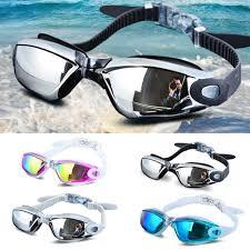 <b>Electroplating Anti UV Anti</b> fog Swimsuit Glasses Swimming Diving ...