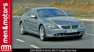 2003 BMW 6-Series 645 Ci Coupe Overview - YouTube