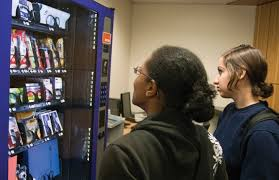 Vending Machines That Sell School Supplies Enchanting Library West Vending Machine Offers School Supplies Campus
