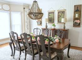 oh so pretty spring dining room