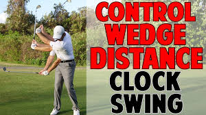 Dave Pelz Wedge Distance Chart How To Control Wedge Distance Clock System Wedges
