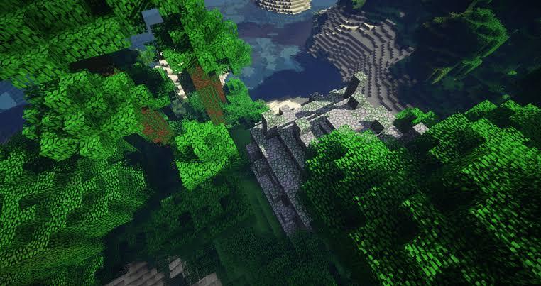 Minecraft Diamonds in the Jungle