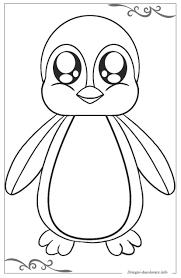 Pinguini Disegni Da Colorare Per Ragazzi Gratis
