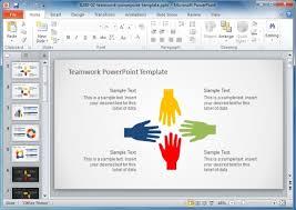 Teamwork Presentations Poster Presentation Templates For Powerpoint