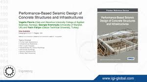 Design Of Rc Structures Performance Based Seismic Design Of Concrete Structures And