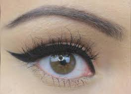 simple cat eye makeup to make your hazel eyes pop pinit