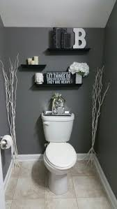 bathroom decorating ideas with grey walls