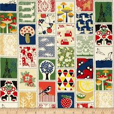 448 best Fabrics images on Pinterest | Fabric online, Fabric ... & Quilt Gate Mushroom World trick cards Japanese cotton print fabric Adamdwight.com