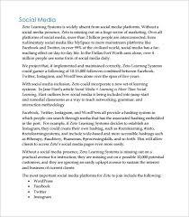 Social Media Management Proposal Pdf - Kleo.beachfix.co
