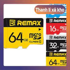 xả kho) Thẻ nhớ REMAX tốc độ cao 8GB 16GB 32GB 64GB giá cạnh tranh