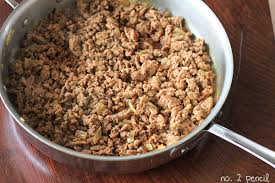 cooked ground turkey.  Cooked BULK Lean Ground Turkey Inside Cooked