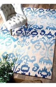 safavieh ikat ivory blue area rug rugs lanterns handmade