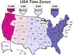 Download Free Printable Map Of Usa Time Zones United States America World Map With Countries
