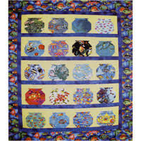 Lehmann Quilting - Quilt Patterns & When choosing fabrics for this unique quilt, be sure to look for fish,  coral, frogs, lizards, rocks, ocean scenes, etc. Measuring 50