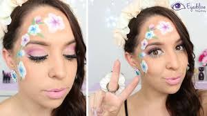 flower power hippie spring makeup tutorial by eolizemakeup