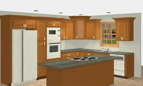Design A Kitchen Free Online Kitchen Beauty Chic With Light Blue Paint And White Cabinet Design