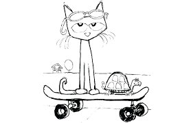 Pete The Cat Coloring Pages Gewerkeinfo