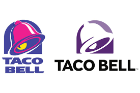 taco bell logo. Simple Taco Taco Bellu0027s Updated Logo Coincides With Vegas Strip Debut  CMO Strategy   Ad Age Throughout Bell O