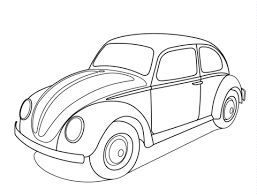 Small Picture Volkswagen Beetle coloring page Free Printable Coloring Pages