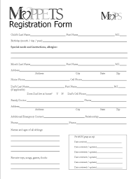 printable registration form template printable registration form template popisgrzegorz com