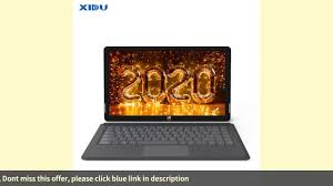 ☑XIDU PhilPad Laptop 13.3'' 2 in 1 tablet Touchscreen Notebook Ultra Sl -  YouTube