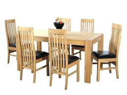 stylish decoration solid oak dining table and 6 chairs est oak dining table