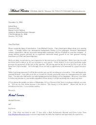 Cover Letter Design Sample Cover Letter For Leadership Position