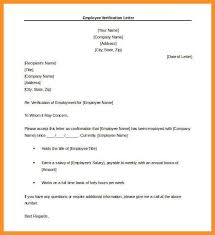 3 4 Sample Confirmation Of Employment Letter Wear2014 Com