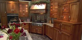 kitchen cabinets with built in range and hood