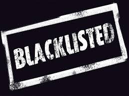 Image result for pic blacklist