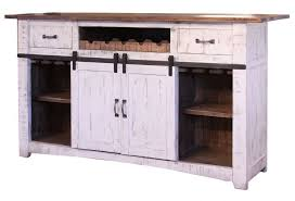 eliza barn door series home bar
