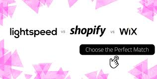 Wix Vs Shopify Lightspeed Vs Shopify Vs Wix Maintain Business Growth With Right
