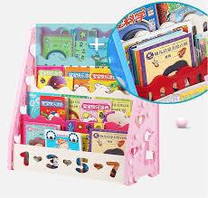 book rack birthday gift colorful