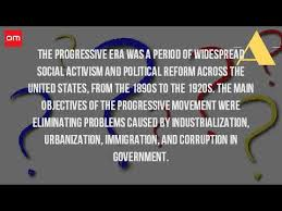 what were the intentions of the progressive movement what were the intentions of the progressive movement