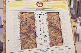 Table Number Chart Wedding Table Number Plan Ideas Smashing The Glass Jewish